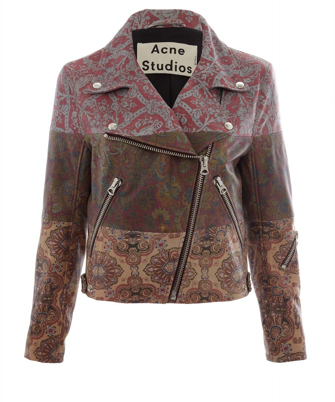 Acne x Liberty biker- -ú2,700- liberty.co.uk