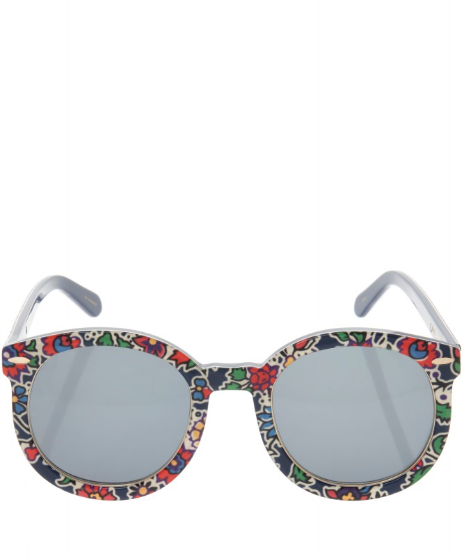 Karen Walker x Liberty - Super Duper Strength Liberty print sunglasses -ú210- liberty.co.uk