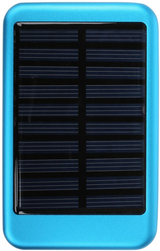 Blue Solar Power Bank Cut-Out
